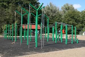 公園 トレーニング ワークアウト