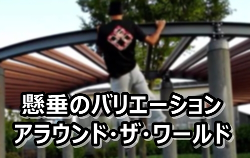 懸垂 バリエーション アラウンド・ザ・ワールド