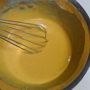 きな粉ホットケーキ プロテイン