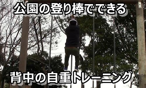 登り棒 筋トレ